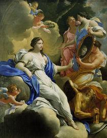 S.Vouet, Allegorie der Klugheit by AKG  Images