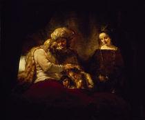 Rembrandt, Jakobs Segen by AKG  Images
