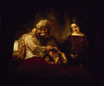 Rembrandt, Jakobs Segen von AKG  Images