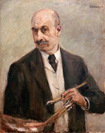 Max Liebermann, Selbstbildnis 1917 von AKG  Images