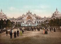 Paris, Weltausst.1900, Chateau d'Eau von AKG  Images