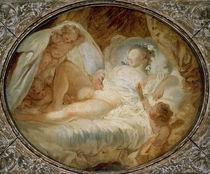 J.H.Fragonard, Feuer ans Pulver/1765-70 von AKG  Images