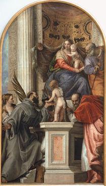 Veronese, Sacra Convesazione by AKG  Images
