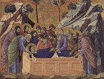 Duccio, Begraebnis Mariae by AKG  Images
