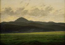 C.D.Friedrich, Berglandschaft in Boehmen von AKG  Images