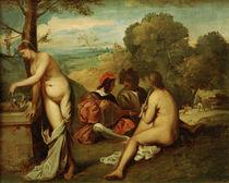 Feuerbach nach Giorgione, Laendl.Konzert von AKG  Images