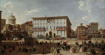 Rom, Piazza di Spagna / Gem.v.Pannini by AKG  Images