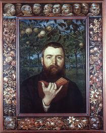 Hans Thoma, Selbstbildnis 1880 von AKG  Images