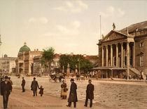 Berlin, Unter den Linden / Foto 1898 von AKG  Images
