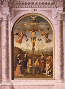 Perugino, Kreuzigung by AKG  Images