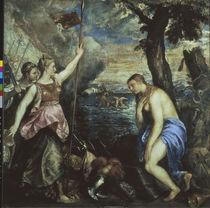 Tizian, Spanien hilft Religion/ 1566-75 by AKG  Images