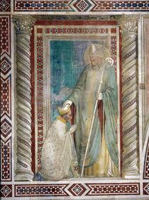 Giottoschule, Rufinus und T.Pontano von AKG  Images