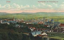 Fulda, Stadtansicht / Postkarte von AKG  Images