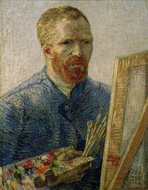 V.v.Gogh,Selbstbildnis,Staffelei/1888 von AKG  Images