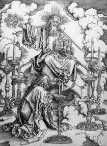 A.Duerer, Johannes erblickt Leuchter by AKG  Images