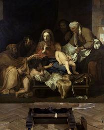 Charles Lebrun, Heilige Familie by AKG  Images