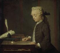 J.B.S.Chardin, Der Knabe mit Kreisel von AKG  Images