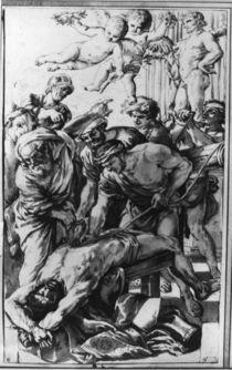 N.Poussin, Martyrium Hl.Erasmus /Zng. von AKG  Images
