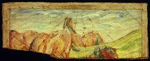 F.Marc, Weidende Pferde II (Fragment) von AKG  Images