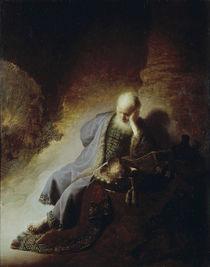 Rembrandt, Jeremias by AKG  Images