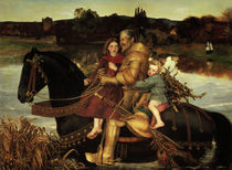 J.E.Millais, Sir Isumbras at the Ford by AKG  Images