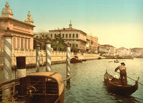 Venedig, Bacino S.Marco / Photochrom von AKG  Images