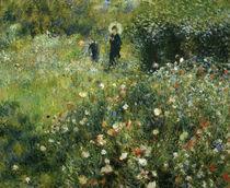 Auguste Renoir, Frau mit Sonnenschirm.. by AKG  Images