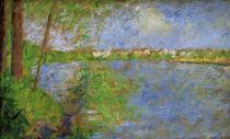 G.Seurat, Fruehling auf der Grande Jatte by AKG  Images