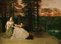 G.Courbet, Dame auf der Terrasse von AKG  Images