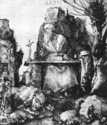 Duerer, Hl.Hieronymus neben Weidenbaum by AKG  Images