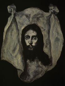 El Greco, Schweisstuch der Veronika von AKG  Images
