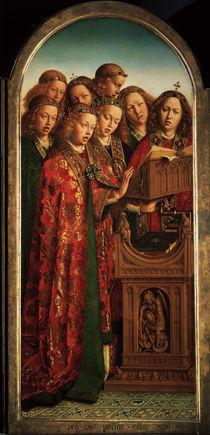 Singende Engel /v.Eyck,Genter Altar 1432 von AKG  Images
