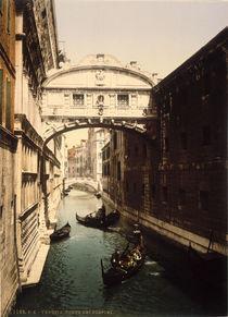 Venedig, Seufzerbruecke / Foto 1890 by AKG  Images