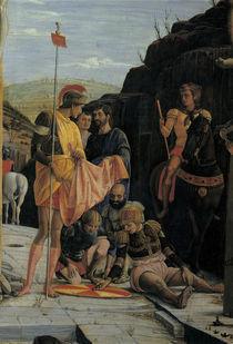 Mantegna, Kreuzigung Christi, Ausschnitt by AKG  Images
