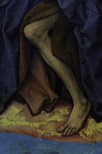 R.v.d.Weyden, Fuss des Johannes d. T. von AKG  Images