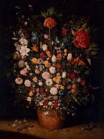 Jan Bruegel d.Ae./ Blumenstrauss/ um 1607 von AKG  Images