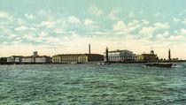 St.Petersburg, Wassilij Insel / Foto von AKG  Images