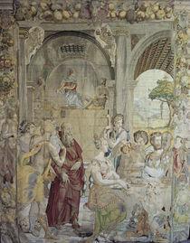 Joseph im Gefaengnis / Bildteppich 1549 by AKG  Images