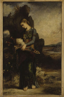 G.Moreau, Maedchen mit Kopf des Orpheus by AKG  Images