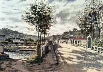 C.Monet, Die Bruecke von Bougival by AKG  Images