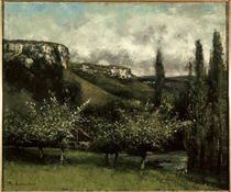 Gustave Courbet/ Apfelbaumgarten/ by AKG  Images