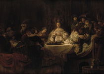 Rembrandt, Simsons Hochzeit by AKG  Images