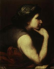 J.de Ribera, Frauenkopf, Triumph Bacchus von AKG  Images