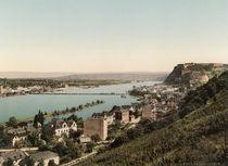 Koblenz u.Ehrenbreitstein / Photochrom von AKG  Images