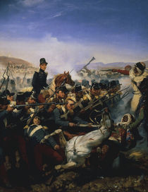 Schlacht bei Somah 1836 Gem.v. Vernet von AKG  Images