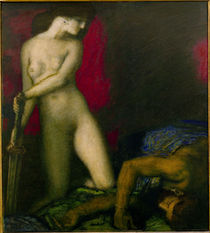 F.v.Stuck, Judith u. Holofernes von AKG  Images