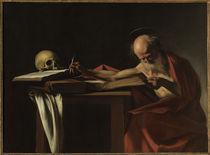 Caravaggio, Der schreibende Hieronymus von AKG  Images