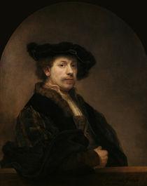 Rembrandt, Selbstbildnis / London von AKG  Images