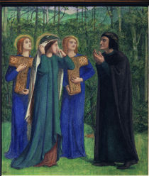 Dante, Goettl. Komoedie / Rossetti von AKG  Images