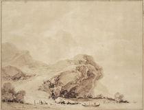 J.H.Fragonard, Kueste bei Genua von AKG  Images
